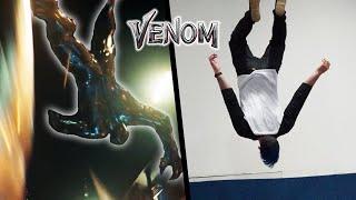 Venom Stunts In Real Life (Spiderman, Parkour)