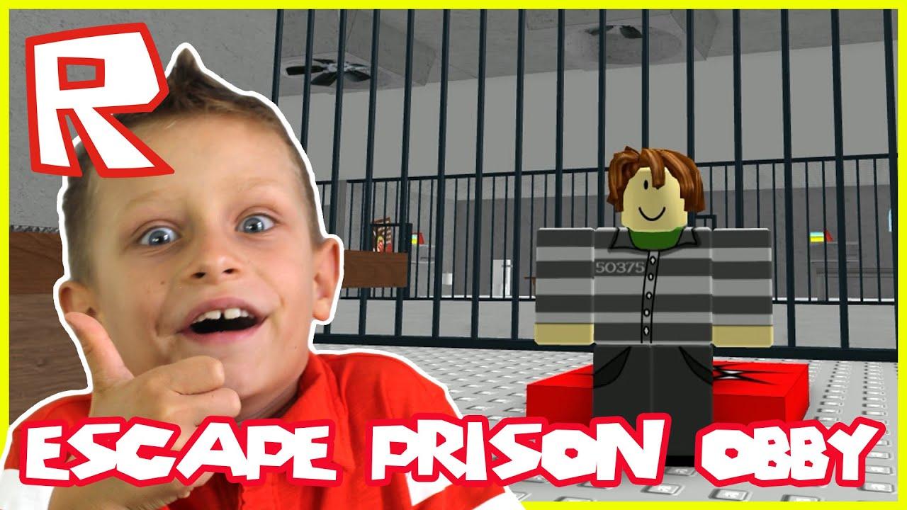 Escape Prison Obby Roblox Youtube