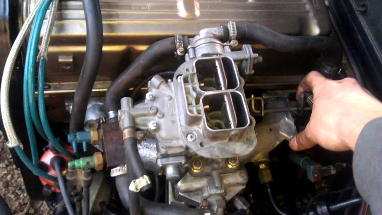 Ford Sierra 2 0 w  Weber 38 DGAS - first start