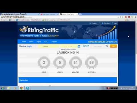 Rising Traffic - Аналог Trafficmonsoon!!! Только круче и на РУССКОМ!!!