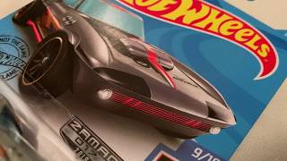 Hot Wheels Corvette Grand Sport (2019 Walmart Zamac - HW Race Team)