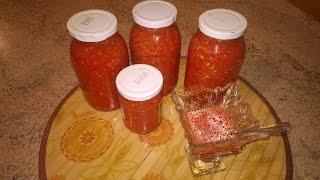 аджика домашняя из помидоров перца и чеснока в мультиварке