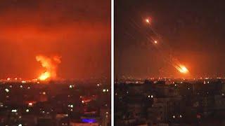 Palestinian rocket fire, Israeli airstrikes on Gaza run into second day