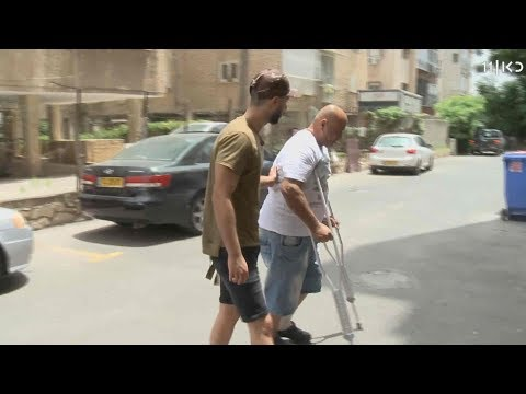 בגלל חניה: 'השוטרים שברו לי את הרגל'