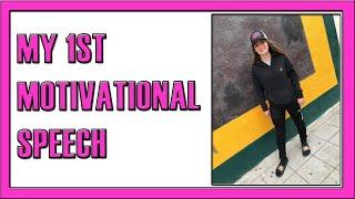 MOTIVATIONAL SPEECH FOR SOCCER GIRLS