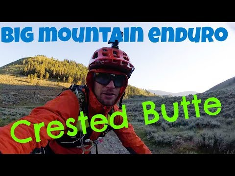 Big Mountain Enduro Series Finals in Crested Butte -- Epic trails and more bad luck!