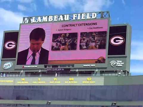2013 Green Bay Packers Shareholder Meeting