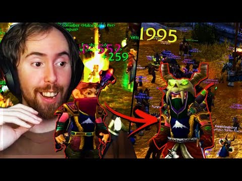 Asmongold Gets BOOSTED To Level 60 On His Warlock, Equips FULL EPIC GEAR & One Shots People In DUELS