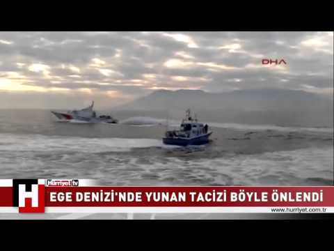 Hellenic Coast Guard BUSTED by Turkish Coast Guard