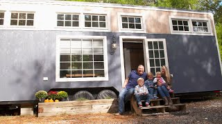 Tiny Home Tour: See Inside The Small Space Where A Family Of 5 Lives
