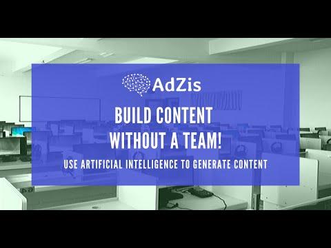 AdZis - Product Description Generation Engine for Ecommerce