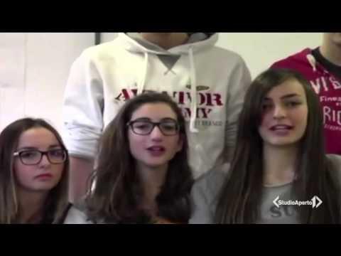 CIAO BULLO - 'Un rap contro i bulli' - StudioAperto, Italia1
