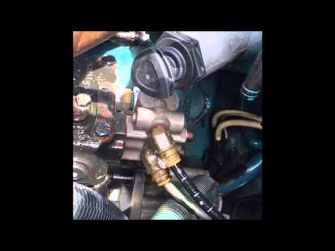 2007 INTER 4300 DT466 BAD AIR COMPRESSOR GOVERNOR  YouTube