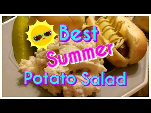 BEST Summer Potato Salad EVER |*Mostly Organic*| MylifeasGwynn