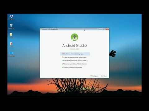 안드로이드 앱 프로그래밍 무료 강좌1 (앱 개발 환경 설치)