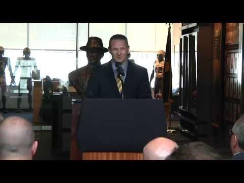 Glenn Davis West Point Class Ring Presentation