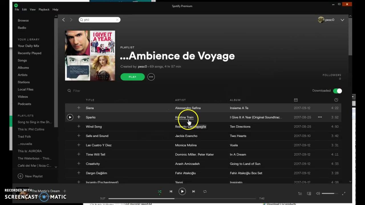 Change playlist order in Spotify