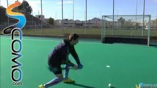 El Tiro Porteria En Hockey Hierba