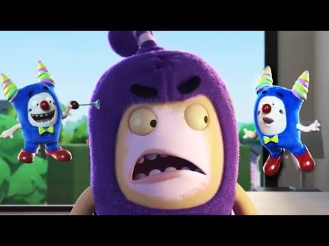 Oddbods Full Episode - Oddbods Full Movie | The Clown Off | Funny Cartoons For Kids