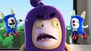Oddbods Full Episode - Oddbods Full Movie | The Clown Off | Funny Cartoons For Kids
