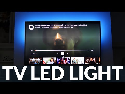 TV LED Strip Lights REVIEW - USB TV Backlight with Remote