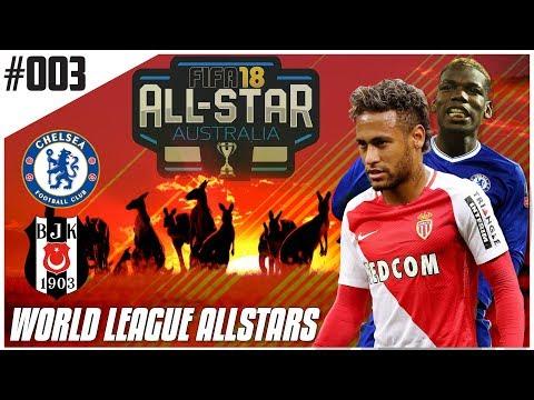 Fifa 18 Career Mode - World League Allstars - Ep3