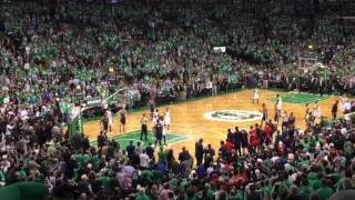 NBA Celtics crush the Wizards, game 7, Lets go!