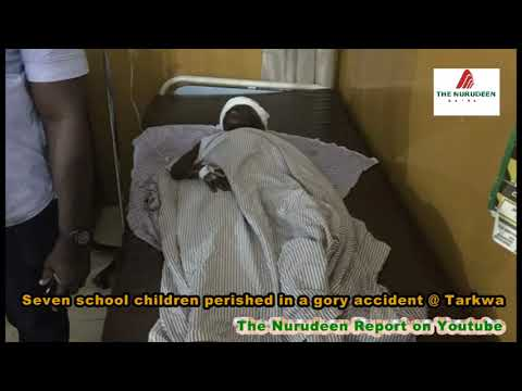 Seven school children perished in a gory accident @Tarkwa