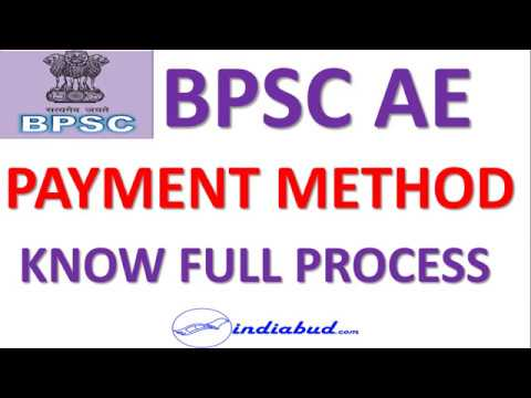 BPSC AE Full Online Payment Process ll Online Payment  कैसे करें l