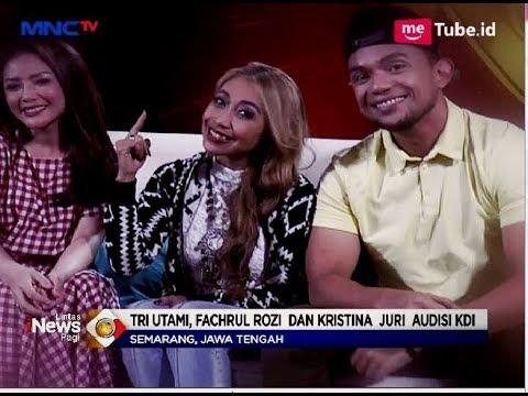 Tri Utami, Fachrul Rozi, dan Kristina, Jadi Juri Audisi KDI di Semarang - LIP 14/05