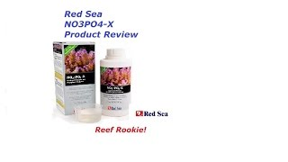 red sea no3po4 x product review