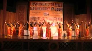 Performance on river Narmada - written by Kavi Narmad. Choreographed by Guru Rekha Shri