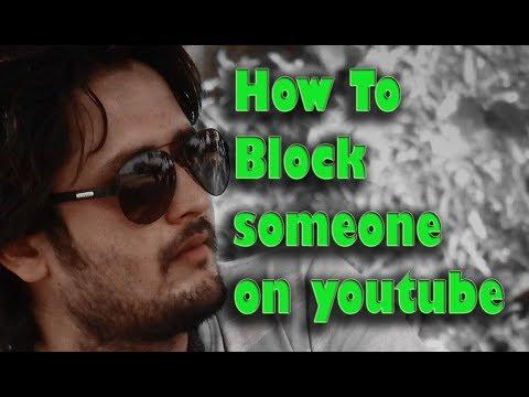 how to block someone on youtube - youtube pr block kaise krte hain