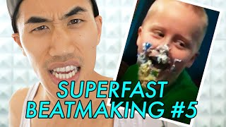SUPERFAST BEATMAKING #5 — CAKE FACE | Andrew Huang