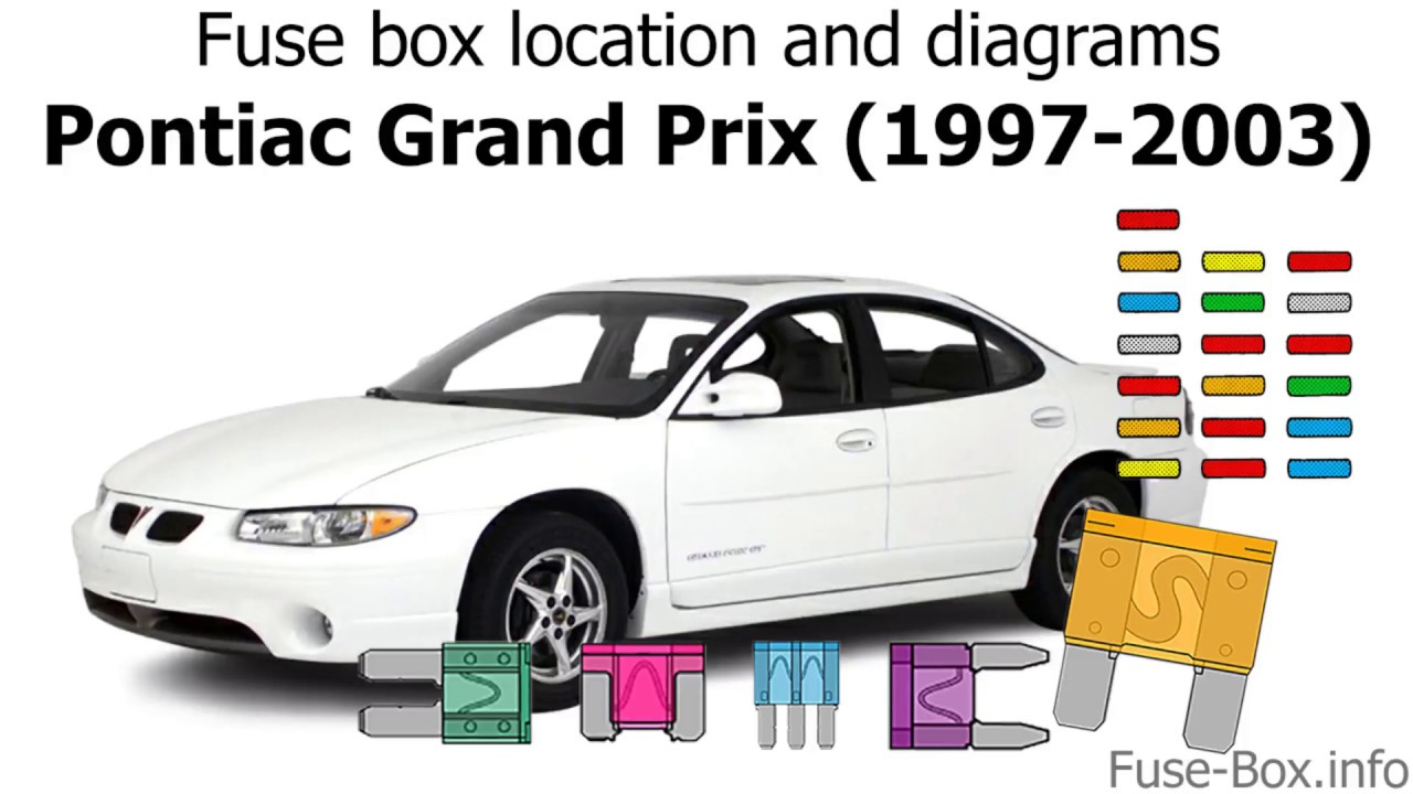 fuse box location and diagrams: pontiac grand prix (1997-2003) - youtube  youtube