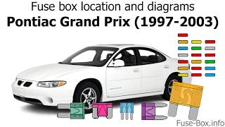 Fuse box location and diagrams: Pontiac Grand Prix (1997-2003) - YouTubeYouTube