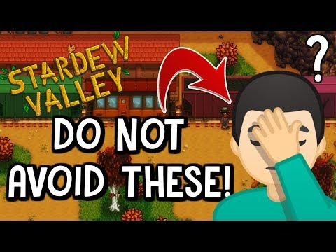 10 AMAZING Things In Stardew Valley That People Forget To Do!
