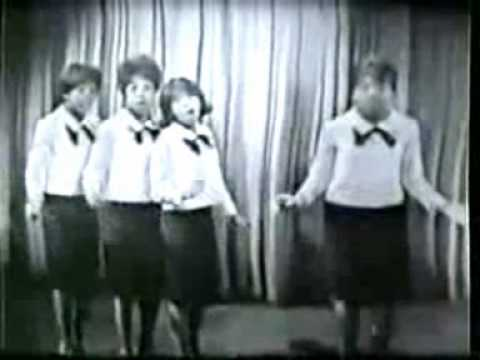 The Crystals - Then He Kissed Me - New Stereo Remix