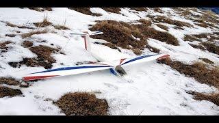 PILATUS B4 [Yuki Model] - Hangflug bei Föhn mit rund 7bft (2014-01-04)
