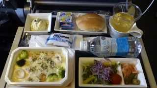 ANA Inflight meal lunch Tokyo-Houston 機内食