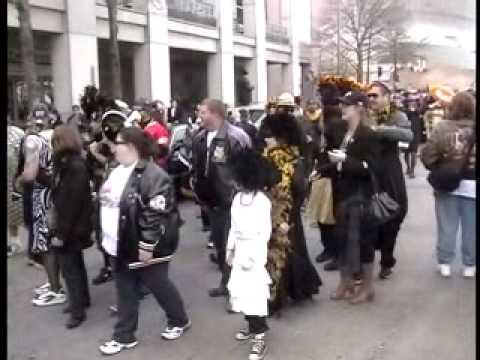 Bobby Hebert Dress Parade 3 - Bobby on Float
