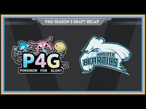 Bronx Beartics: P4G Season 3 Draft Recap! Pokemon Ultra Sun and Moon!