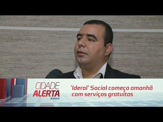 'Ideral' Social começa amanhã com serviços gratuitos no bairro da Forene