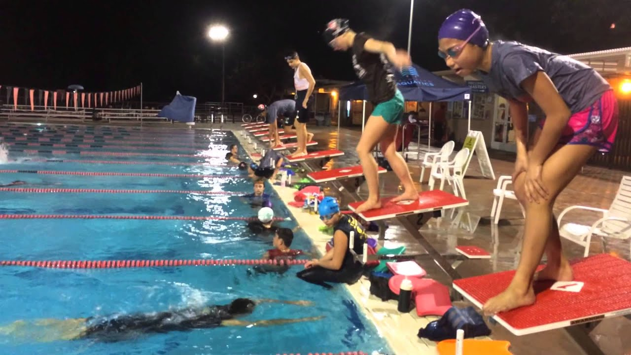 Swim Practice With Tshirts And Pants On Palo Alto Stanford Aquatics Youtube