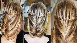 Праздничная/вечерняя/свадебная причёска с плетением, на длинные волосы, своими руками(Подписывайтесь на канал, чтобы не пропустить новые видео ;) https://www.youtube.com/user/sniganka?sub_confirmation=1 Давайте дружить!..., 2015-02-06T08:12:36.000Z)