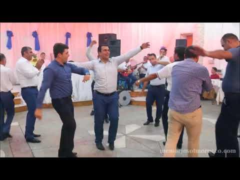 Azeri / Azerbaijani  men dance at wedding, Quba, Azerbaijan