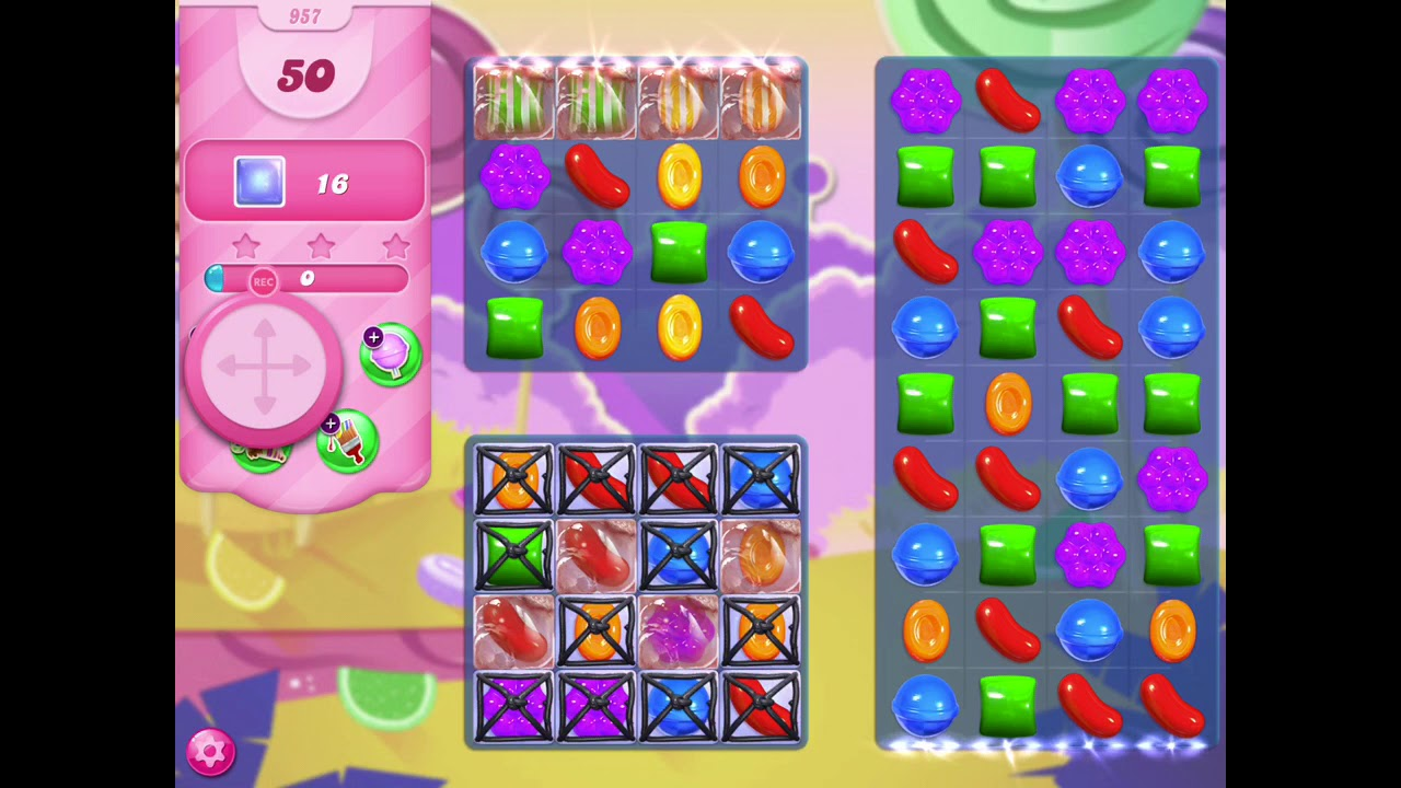 How To Beat Level 957 In Candy Crush Saga