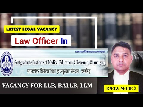 Law officer in