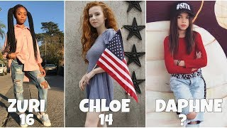 Disney Channel Famous Girls Stars From Oldest to Youngest