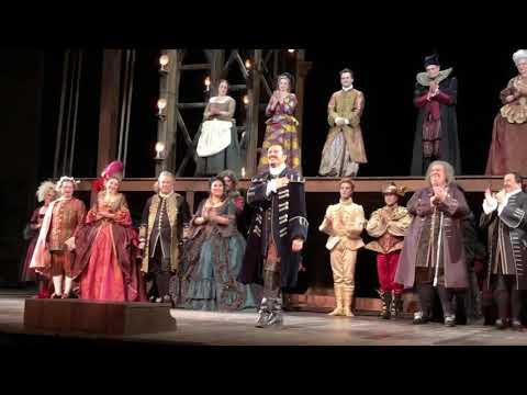 Adriana Lecouvreur Curtain Call - 1/4/19 - Met Opera; Noseda; Netrebko, Rachvelishvili, Beczała